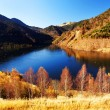 Autumn landscape in Retezat Mountains, Romania — Stock Photo