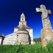 Old Church of Densus, Romania — Stock Photo