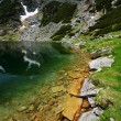Alpine lake in National Park Retezat — Stock Photo