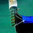 Gondola's fragment close up in Venice — Stock Photo #26269867