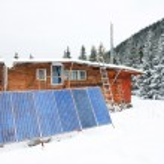 Winter alpine landscape — Stock Photo #26273315
