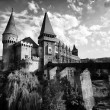 Corvinesti Castle, Hunedoara, Romania, Europe — Stock Photo