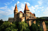Corvinesti Castle, Hunedoara, Romania, Europe — Stock Photo