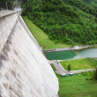 Stock Photo: Concrete dam