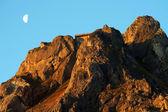 Solnedgång i bergen — Stockfoto