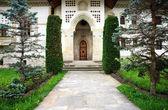 プトナ修道院、ルーマニア、ヨーロッパの建築の細部 — ストック写真