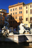 Fontana di Trevi in Rome — Stock Photo