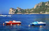 Amalfi pobřeží, itálie, evropa — Stock fotografie