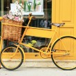 Yellow bike — Stock Photo