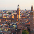 Verona at night — Stockfoto
