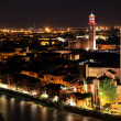 Verona at night — Photo