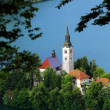 Stock Photo: Lake Bled, Slovenia, Europe
