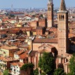 Sant' Anastasia Church and Torre dei Lamberti (Lamberti Tower), Verona, Italy, Europe — Stock Photo #27888685