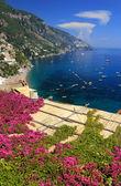 View on Positano, Italy, Europe — Foto de Stock