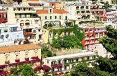 Architecture in Positano Italy, Europe — Stock Photo
