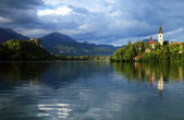 Lake Bled, Slovenia, Europe — Stock Photo