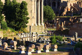 Roman ruins in Rome, Italy, Europe — Stock Photo