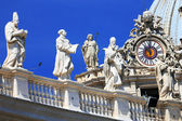 Architectural detail of San Pietro Square, Rome, Italy — Stock Photo