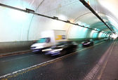 Road tunnel in Rome — Stock Photo