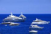Yachting on the Mediteranean Sea, Capri Island, Europe — Stock Photo