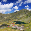 Balea Lake in Fagaras Mountains, Romania — Stock Photo