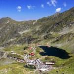 Glacier Valley in the Transylvanian Alps, Romania — Stock Photo