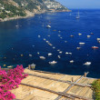 Positano Resort on the Amalfi Coast, Italy, Europe — Stockfoto