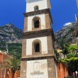 Santa Maria Assunta Cathedral in Positano, Amalfi Coast, Italy — Stock Photo