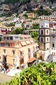 Station de positano amalfi coast, italie, europe — Photo