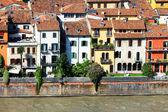 Vue aérienne de vérone, italie, europe — Photo