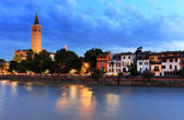Sant' Anastasia Church in Verona, Italy — Foto Stock