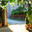 Garden in Ravello, Amalfi Coast — Stock Photo