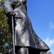 Stock Photo: Statue of Winston Churchill in Parliament Square