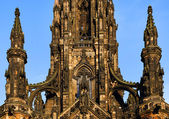 The walter scott monument — Stock Photo