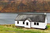 Traditional house on Skye Island — Stock Photo