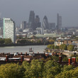 Stock Photo: Thames and London City