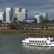 Touristic ship on Thames — Foto de stock #35687371