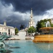 Stock Photo: Trafalgar Square in London