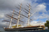 Touristic ship on Thames — Stock Photo