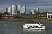 Touristic ship on Thames — Stock Photo