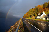 Autumn colours in Highlands — Stock Photo