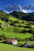 Santa Maddalena Village — Stock Photo