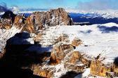 Alpine winterlandschap — Stockfoto
