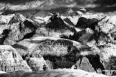 Alpine winterlandschaft — Stockfoto