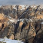 Winter alpine landscape — Stock Photo