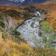 Autumn colours in Cuilin Mountains — Stock Photo