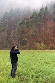 Nature photographer — Stock Photo