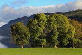 Lochness in Highlands — Zdjęcie stockowe