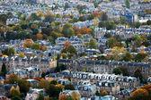Aerial view of Edinburgh — Stock Photo
