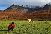 Photographer on the Island of Skye — Stock Photo